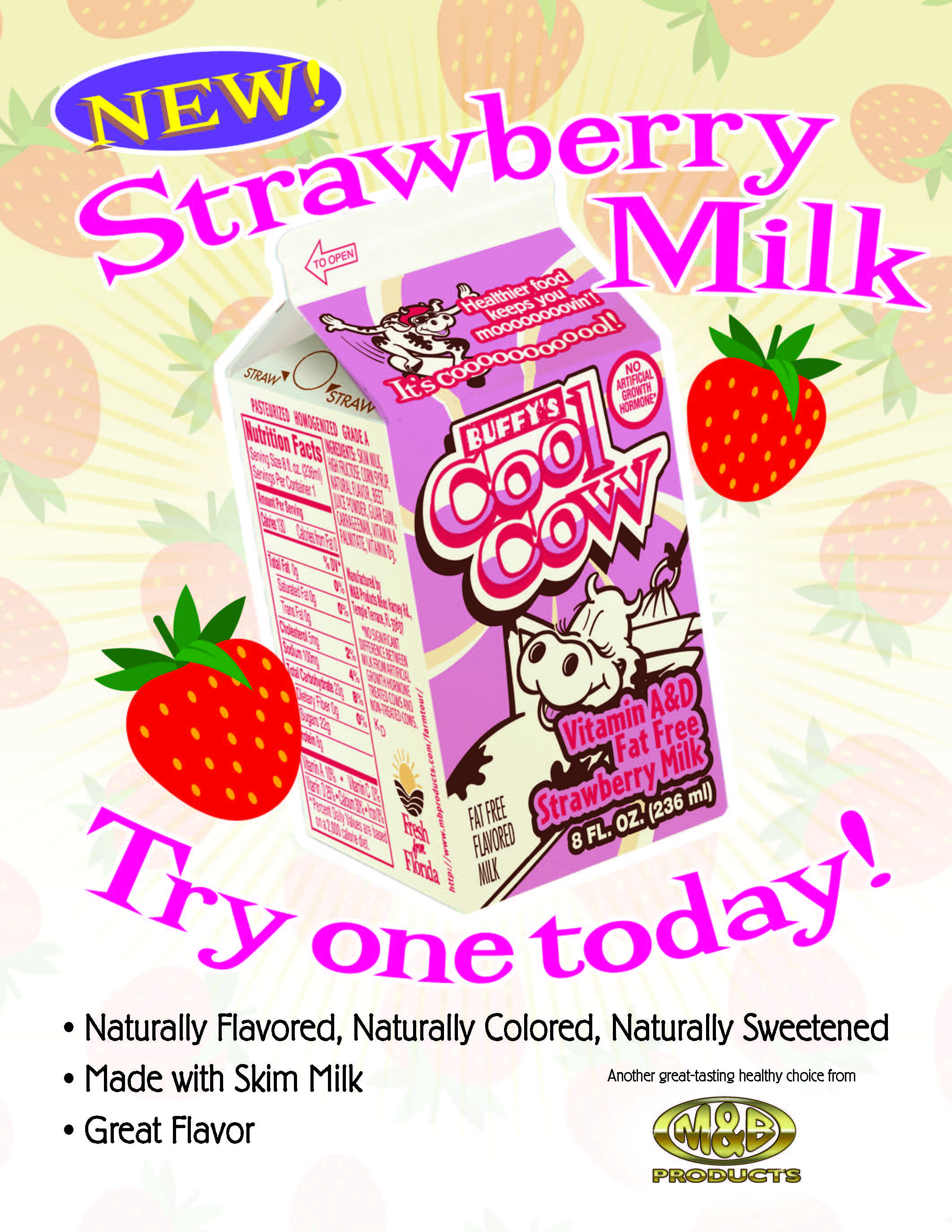 Strawberry Milk Flyer1