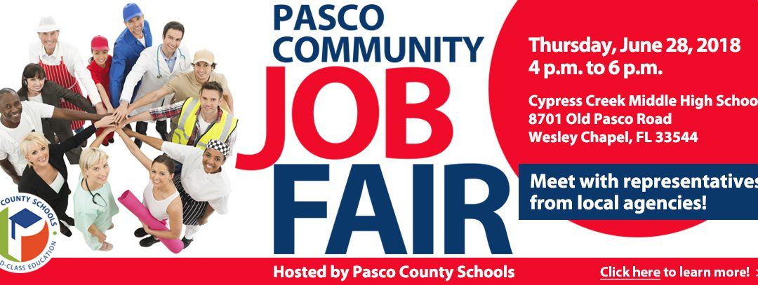 Pasco Community Job Fair
