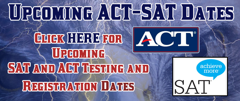 ACT SAT Testing Dates