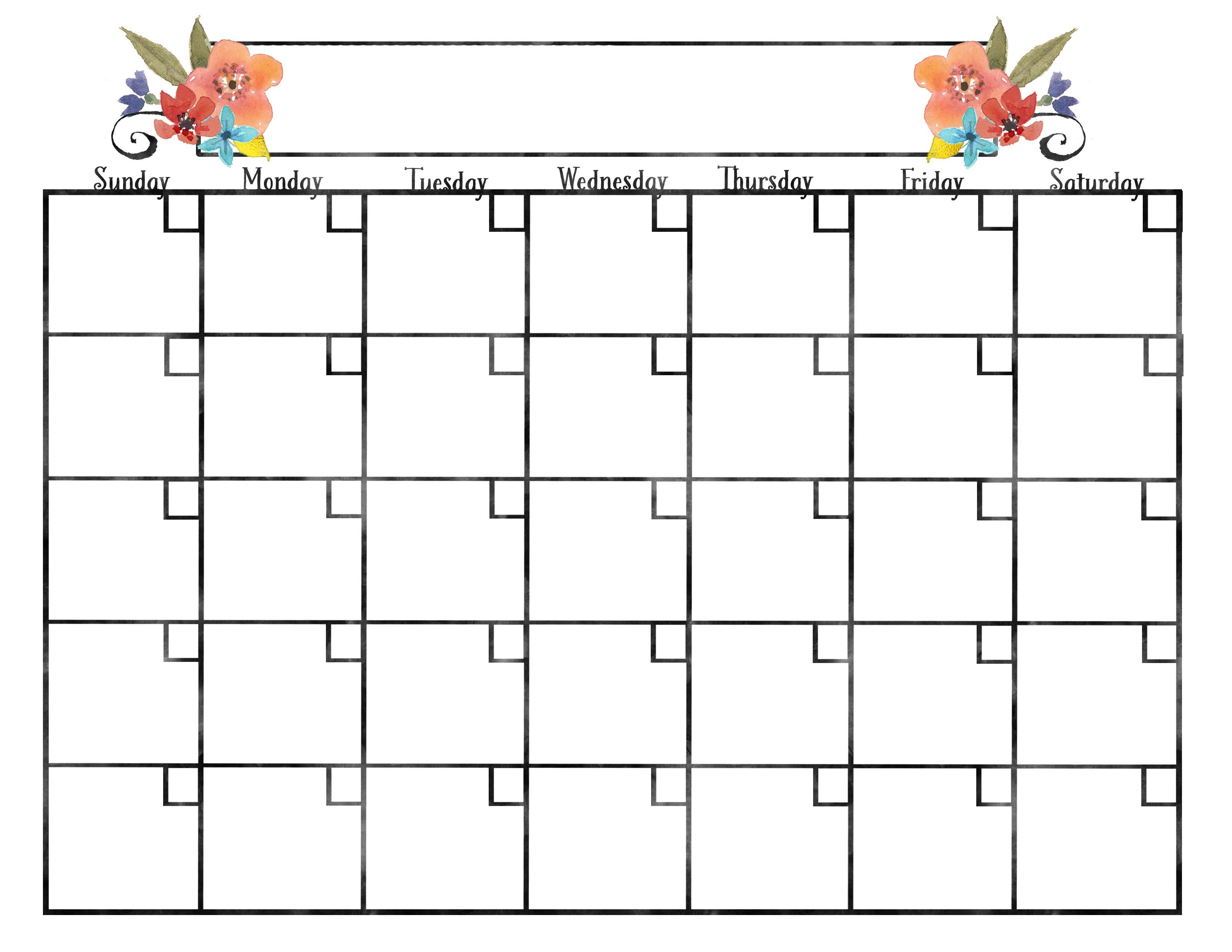 free may 2018 calendar to write notes blank calendars you can write