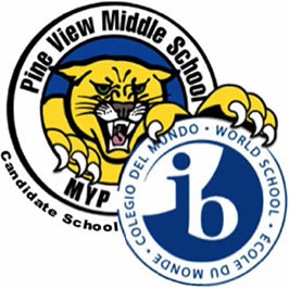Pine View Middle School Logo