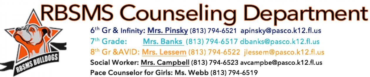 R.B. Stewart Middle School Counselors