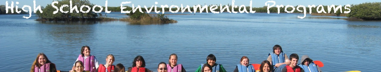 Pasco County Schools Environmental Education Programs