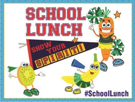 "National School Lunch Week 2016 – ""Show Your Spirit"""