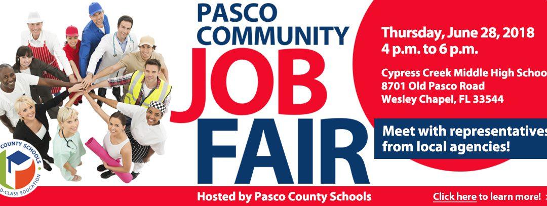 Pasco Community Job Fair