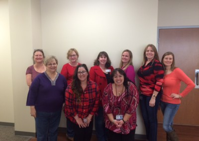 Celebrating Wear Red Day @ HREQ