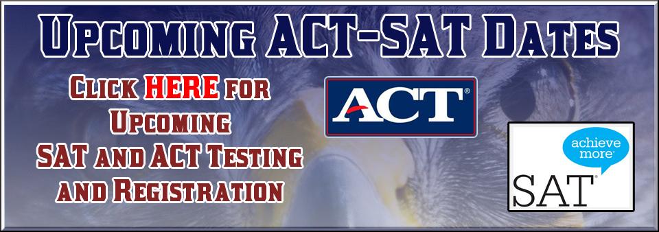ACT-SAT Testing Slide